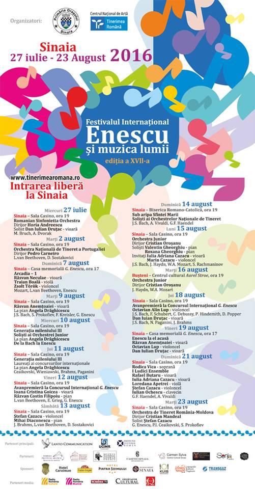 Enescu si muzica lumii - Sinaia 2016 (3)
